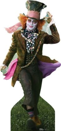 Advanced Graphics 131 Johnny Depp As Mad Hatter Life-Sized Cardboard Stand-Up