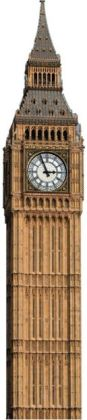 Advanced Graphics 151 Big Ben Clock Tower Cardboard Stand-Up