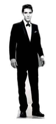 Advanced Graphics 377 Elvis Presley - Tuxedo - Life-Size Cardboard Stand-Up