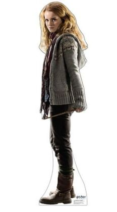 Advanced Graphics 1046 Hermione Granger Deathly Hallows Cardboard Standup