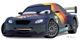 Advanced Graphics 1101 Cardboard Standup Max Schnell - Cars 2