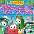 CD Cover Image. Title: 25 Favorite Bible Songs!, Artist: VeggieTales