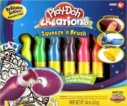 Play-Doh Creations Squeeze N Brush