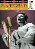 Video/DVD. Title: Jazz Icons: Ella Fitzgerald - Live in '57 and '63