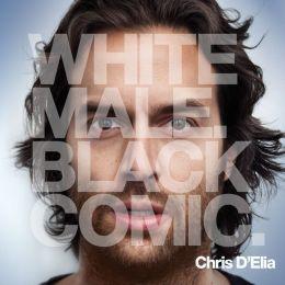 White Male. Black Comic.