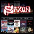 CD Cover Image. Title: Complete Studio Album Collection 1979-1988 (Saxon)