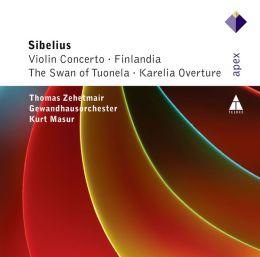 Sibelius: Violin Concerto; Finlandia; The Swan of Tuonela; Karelia Overture