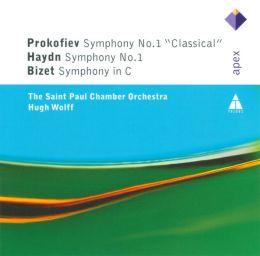 Prokofiev, Haydn, Bizet: First Symphonies