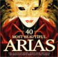 CD Cover Image. Title: 40 Most Beautiful Arias