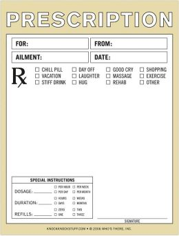 Prescription Nifty Notes 50 Sheets