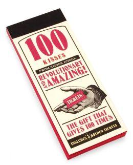 100 Kisses Ticket Book