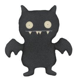 Little Uglydoll Doll - Ice-Bat (Black)