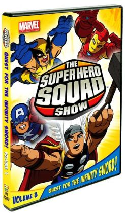 Super Hero Squad Show: Quest for the Infinity Sword! Vol. 3