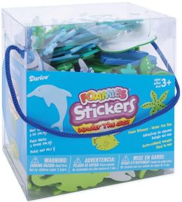 Foam Stickers 5 Ounces-Under The Sea