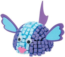 Fun Foam Friends 3D Mosaic Kit-Fish