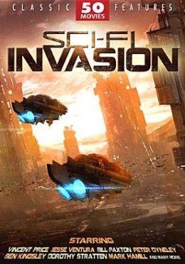 Sci-Fi Invasion: 50 Movie Set (12pc) / (Box)