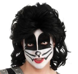 Adult KISS The Catman Wig