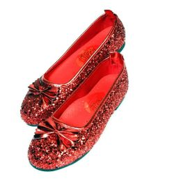 The Wizard of Oz - Ruby Child Slippers: Size Large