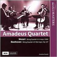 Mozart: String Quartet in A major, K464; Beethoven: String Quartet in E flat major, Op. 127