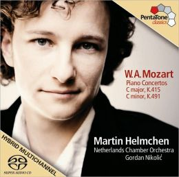 Mozart: Piano Concertos, K. 415 & 491 [includes DVD]