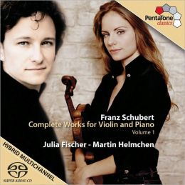 Schubert: Complete Works for Violin and Piano, Vol. 1