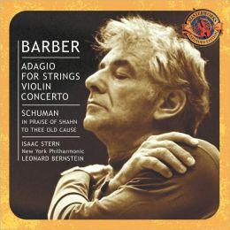 Barber: Adagio for Strings, Violin Concerto, etc.