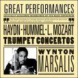 CD Cover Image. Title: Haydn, Hummel, L. Mozart: Trumpet Concertos, Artist: Wynton Marsalis