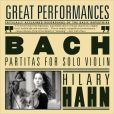 CD Cover Image. Title: Bach: Partitas for Solo Violin, Artist: Hilary Hahn