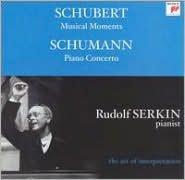 Schubert: Musical Moments; Schumann: Piano Concerto