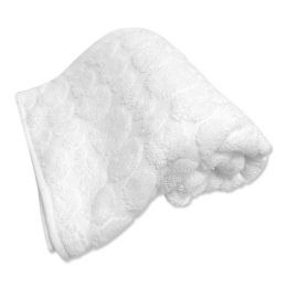 Beads Terry Hand Towel - White (16