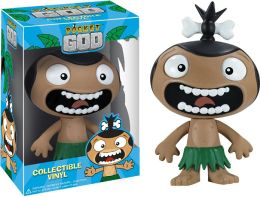 Pocket God: Screaming Pygmy Vinyl Figure