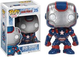 Pop Marvel (Vinyl): Iron Man Movie 3 - Iron Patriot