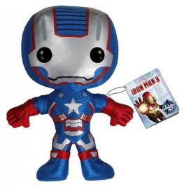Marvel: Iron Man Movie 3 - Iron Patriot Plush