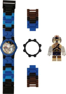 LEGO Legends of Chima Lennox watch with minifigure