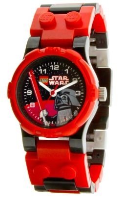 LEGO Star Wars Darth Vader watch with mini figure