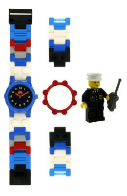 LEGO City Watch with Mini Figure - Policeman