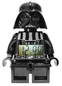 LEGO Star Wars Darth Vader minifigure clock