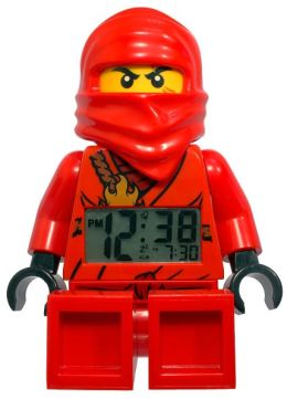 LEGO Ninjago Kai Minifigure Clock with Detachable Sword