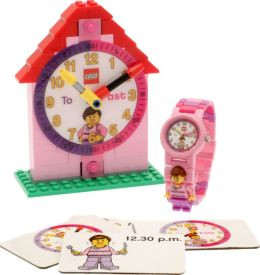 LEGO Time Teacher Girl Minifigure Link Watch & Constructible Clock