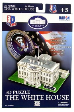 The White House 64 piece 3D Puzzle