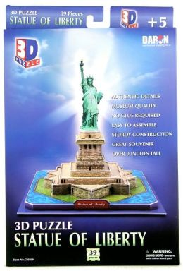 Statue of Liberty (U.S.A) 39 Piece 3D Puzzle