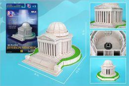 Daron 42 Piece 3D Puzzle - Jefferson Memorial