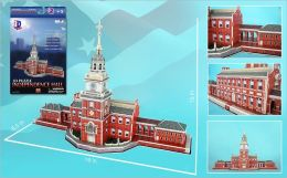 Daron 43 Piece 3D Puzzle - Independence Hall Philadelphia