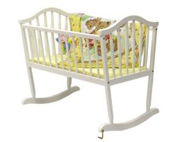 Dream On Me, Rocking Cradle, White