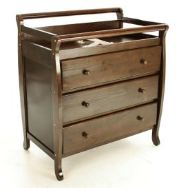 Dream On Me, Liberty Collection 3 Drawer Changing Table, Espresso