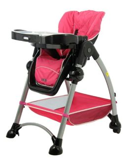 Mia Moda Alto Highchair in Pink