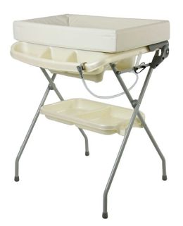 Dream On Me, 2 in 1 Baby Bather & Changing Station Combo, White