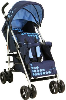 Dream On Me FreedomTandem stroller in Navy (460-N)