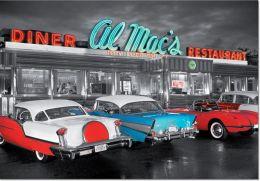Diner at Al Mac's 1000 Piece Puzzle