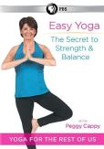 Video/DVD. Title: Peggy Cappy: Easy Yoga - The Secret to Strength and Balance